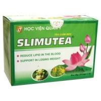 Trà Slimutea giảm béo sản xuất từ HV Quân Y viện 103