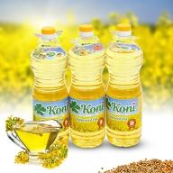 Combo 3L dầu hạt cải Koni nhập khẩu từ Ba Lan
