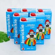 6 hộp sữa tươi MLEKO LOWICKIE 1,5% (ít béo)- NK từ Ba Lan