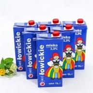 6 hộp sữa tươi MLEKO LOWICKIE 3,2% (nguyên kem)- NK từ Ba Lan