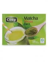 Hướng dẫn pha trà Cozy Matcha nóng