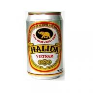 Bia Halida Lon 330ml