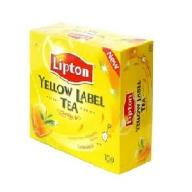 Trà Lipton Nhãn Vàng (100 túi/Hộp)