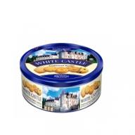 Bánh quy bơ White Castle màu xanh - Hộp thiếc tròn 454gr