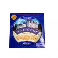 Bánh quy bơ White Castle màu xanh - Hộp thiếc tròn 681gr