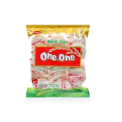 Bánh gạo ngọt One One - Thùng 20 gói x 230g