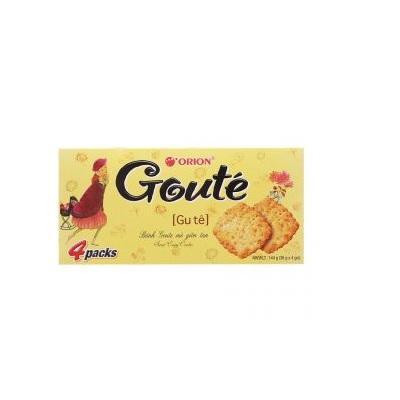 Bánh Goute mè – Thùng 16 hộp x 4 gói (144g)