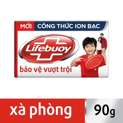 Xà bông Lifebuoy bảo vệ vượt trội 10 hộp 90g