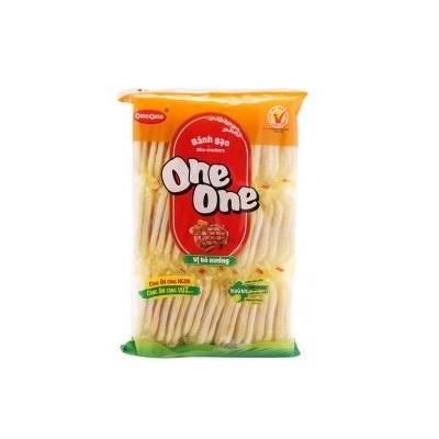 Bánh gạo mặn One One bò nướng - Thùng 20 gói x 150g