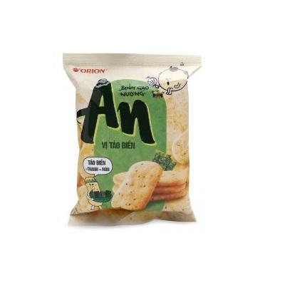 Bánh gạo nướng An vị tảo biển - Thùng 10 gói x 111.3g