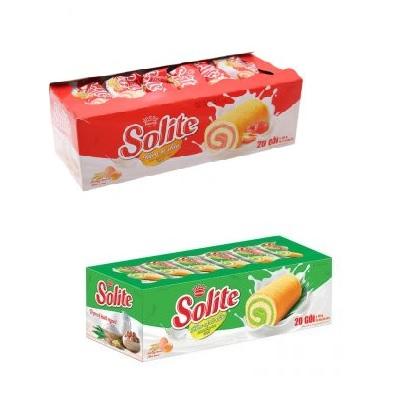 Bánh Solite cuộn - Thùng 12 hộp x 360g