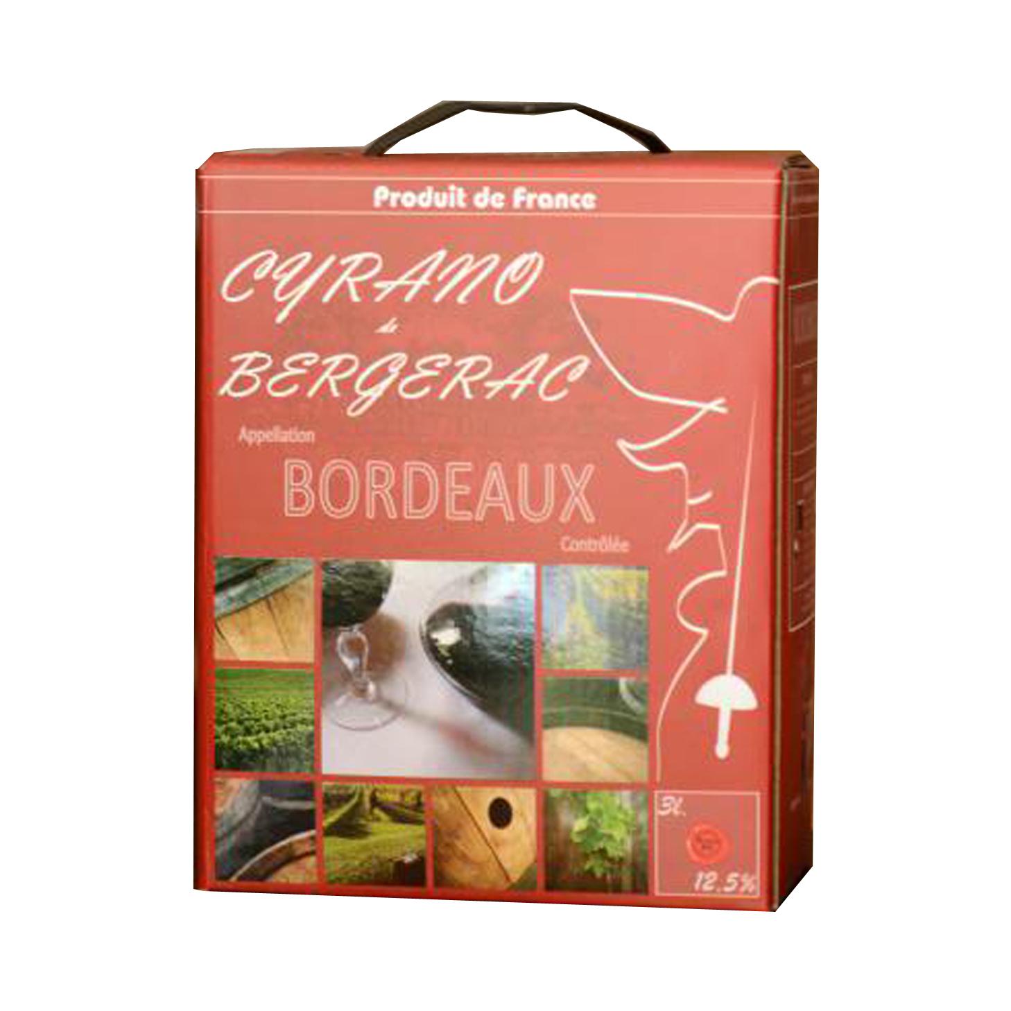 Rượu Bordeaux Cyrano de Begerac