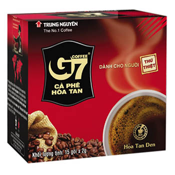 Cà phê Trung Nguyên G7 Hòa tan 2in1 (15 gói*2g/hộp)