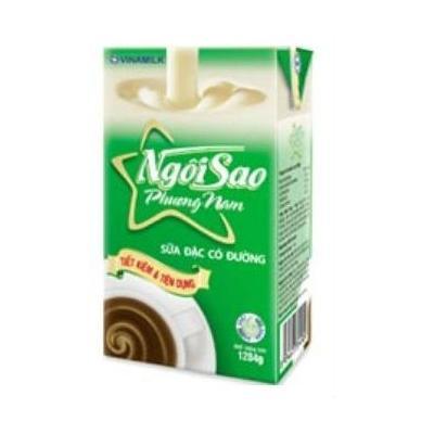 Sữa Đặc Có Đường Ngôi Sao Phương Nam Xanh (1l/hộp)