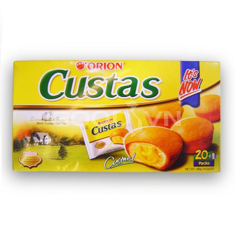 Bánh Custas Orion 20Packs