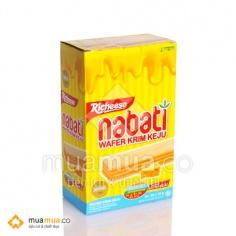Bánh Kem Xốp Nabati CheeseWafer 150g