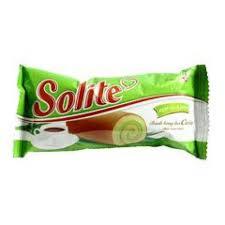 Bánh Bông Lan Solite Vị Lá Dứa 390g
