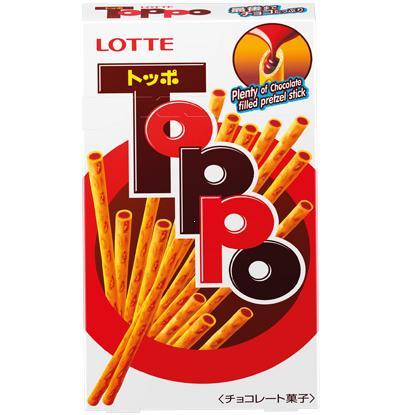 Bánh Que Lotte Toppo Nhân Socola 40g