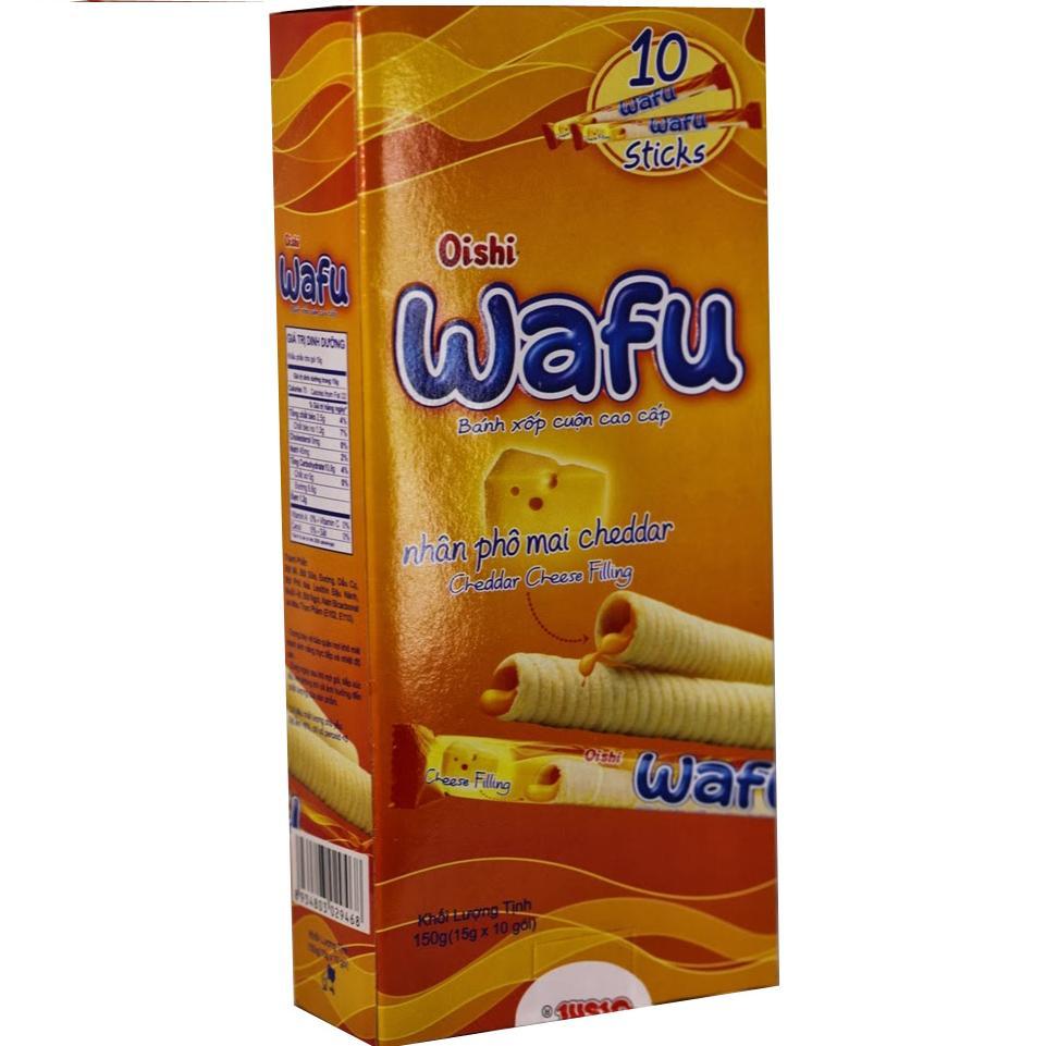 Bánh Xốp cuộn Cap Cấp Wafu 150g