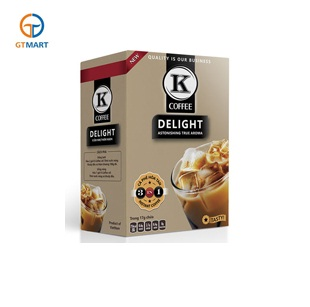 K Coffee Delight 3in1 (85g/hộp, 5gói x 17g) (hộp)