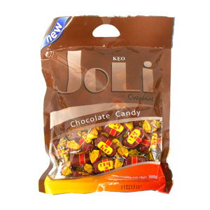 Kẹo Joli Original Chocolate Candy 300g