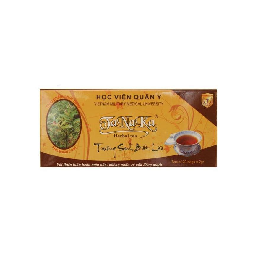 Trà thảo dược Tanaka (hộp 20 gói 2g)