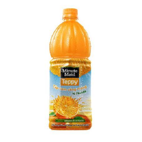 Nước Cam Minute Maid Teppy 1 lít