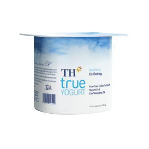 Sữa Chua TH True Milk Có Đường