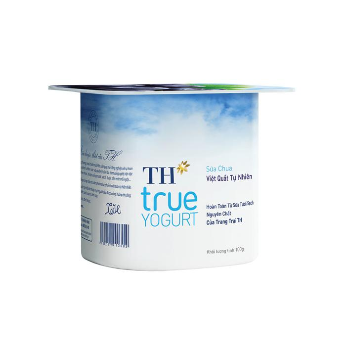 Sữa Chua TH True Milk Yogurt Blueberry