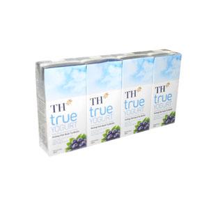 Sữa Chua Uống TH True Hương Việt Quất 180ml