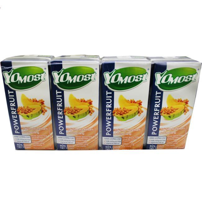 Sữa Chua Yomost Dưa Gang 180ml
