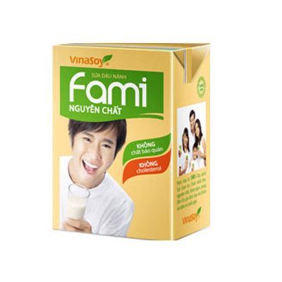 Sữa Đậu Nành Fami Hộp 200ml