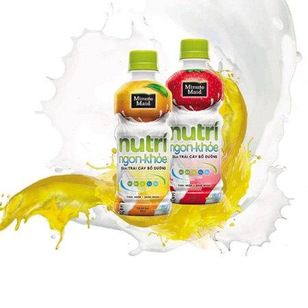 Sữa Trái Cây Nutri Boost Cam, Dâu 297ml