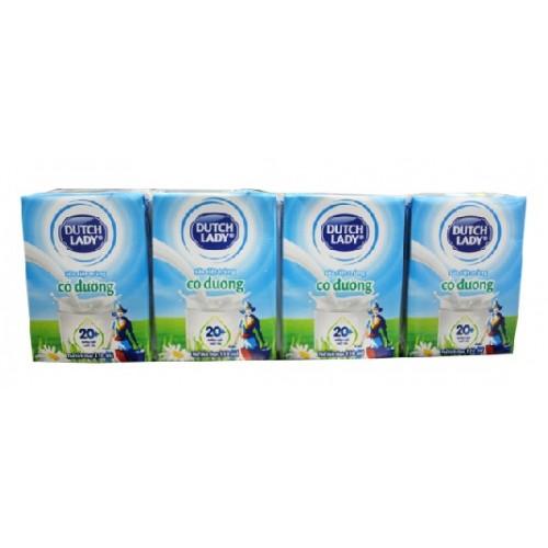 Sữa Tiệt Trùng Cô Gái Hà Lan Có Đường 110ml