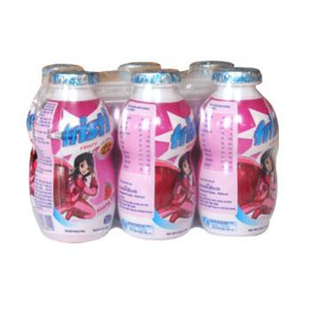 Sữa Tiệt Trùng Fristi Hương Dâu 80ml * 6