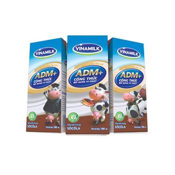 Sữa Tươi Tiệt Trùng Bổ Sung Vi Chất Socola 180ml