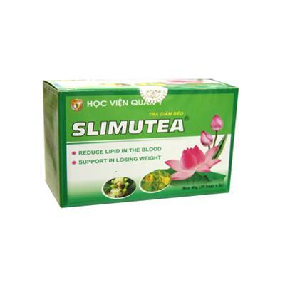 Trà Giảm Béo Slimutea (hộp 20 gói 2g)