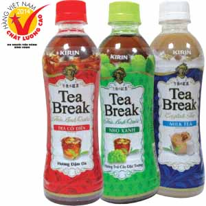 Trà Anh Quốc Tea Break Nho Xanh, Cổ Điển, Trà Sữa 350ml