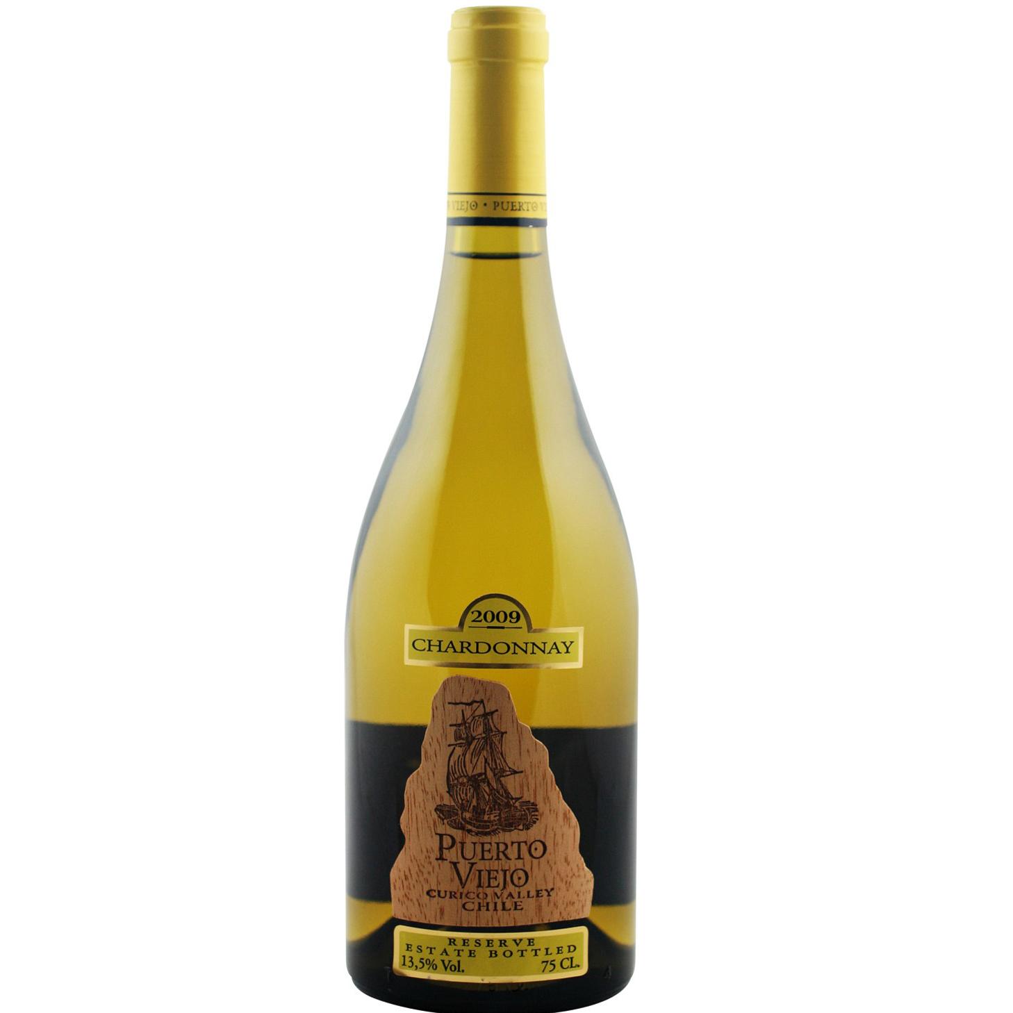 Rượu vang Puerto Viejo Chardonnay