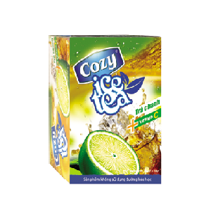 Trà Cozy Ice Tea Hương Chanh (20 gói x 15g/gói)